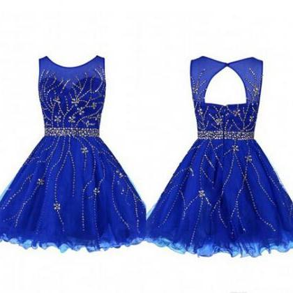 2016 Royal Blue Homecoming Dresses,..