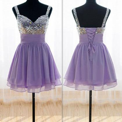 New Arrival Beading Homecoming Dres..