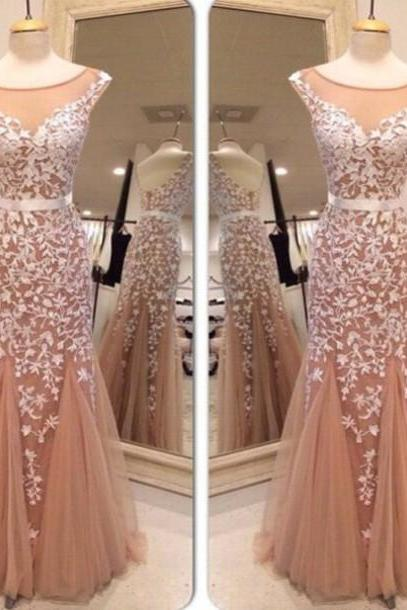 prom dresdses 2016 New Arrival Appliques Prom Dresses, Charming Prom Dresses, Real Made Prom Dresses,