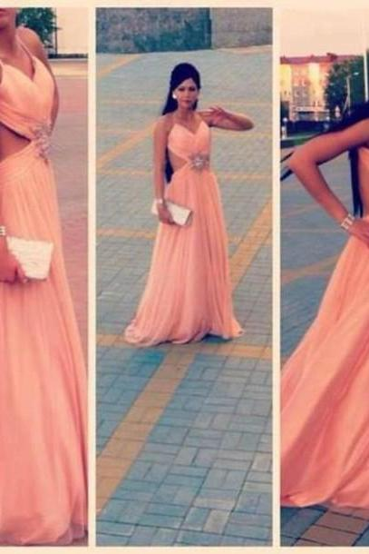 New Design Backless Prom Dresses, The Charming Evening Dresses, Prom Dresses, Prom Dresses