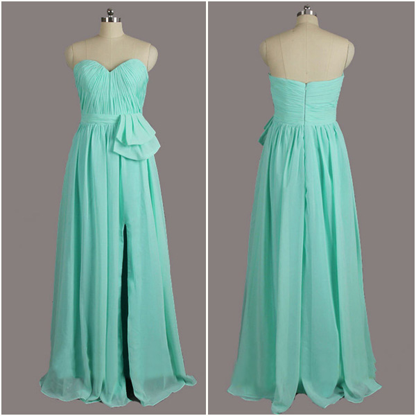Evening Dress-Long Bridesmaid Dresses, Fashion Bridesmaid Dress, Formal Bridesmaid Dresses, Wedding Party Dresses